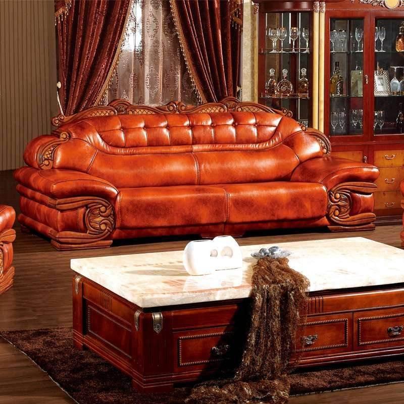 豪宅里面的真皮沙发日常保养方法