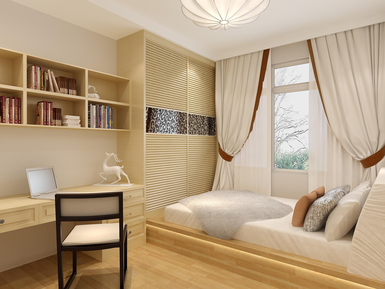 小户型卧室怎么装修,才能显得通透而不狭窄