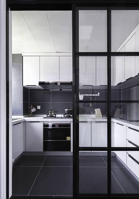各种常见类型的厨房的室内设计