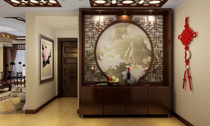 室内设计第一个难题:入户玄关设计!
